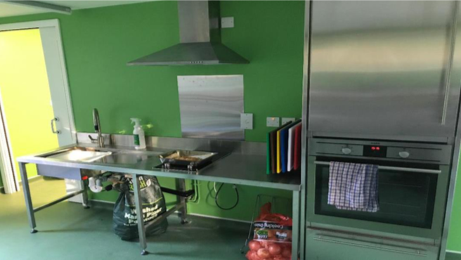 Accessible Kitchen Interior 2